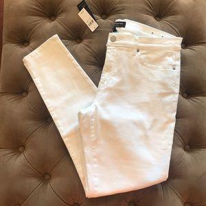 White Skinny Jeans - Banana Republic size 12R